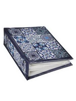 Марокко Фотоальбом на 100фото 10х15см, бумага, ПВХ GC Design KONONO. Цвет: синий