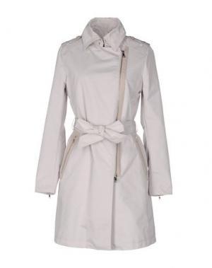 Легкое пальто MABRUN. Цвет: светло-серый