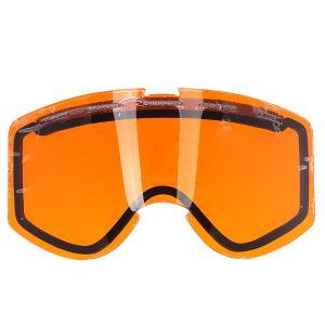 Линза для маски  Warlock Lens Orange Ashbury. Цвет: оранжевый
