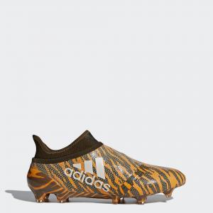 Футбольные бутсы X 17+ Purespeed FG  Performance adidas. Цвет: оливковый