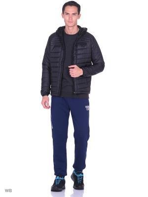 Куртка ANTA. Цвет: черный