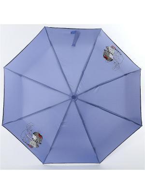 Зонт ArtRain. Цвет: белый, серо-голубой
