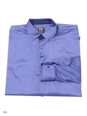Рубашка OLSER. Цвет: сиреневый