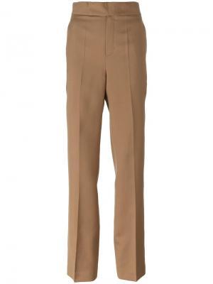 Строгие брюки Ports 1961. Цвет: телесный