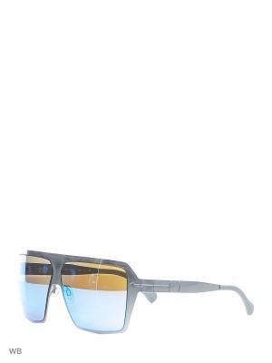 Солнцезащитные очки TM 519S 04 Opposit. Цвет: серебристый