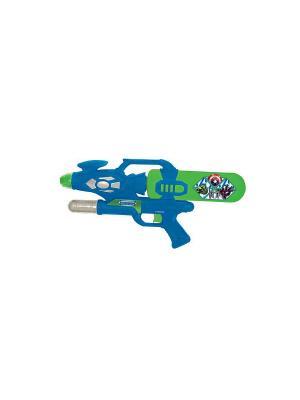 Водный пистолет Играем Вместе мстители. Цвет: синий, зеленый