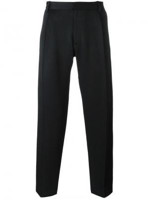 Зауженные брюки Chalayan. Цвет: чёрный