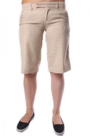 Шорты классические женские  Cambridge Trouser Sunt Ezekiel. Цвет: бежевый