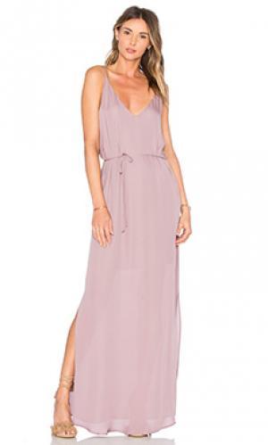 Вечернее платье harlow Rory Beca. Цвет: сиреневый