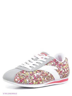 Кроссовки ANTA. Цвет: бледно-розовый, розовый