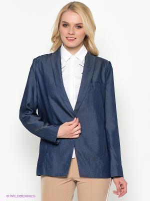 Пиджак Kira Plastinina. Цвет: синий