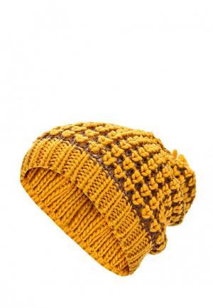 Комплект шапка и шарф Venera. Цвет: оранжевый