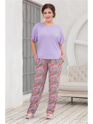 Комплект одежды CLEO. Цвет: фиолетовый