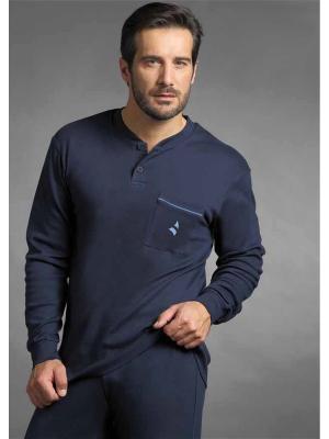 Пижамы Navigare. Цвет: темно-синий