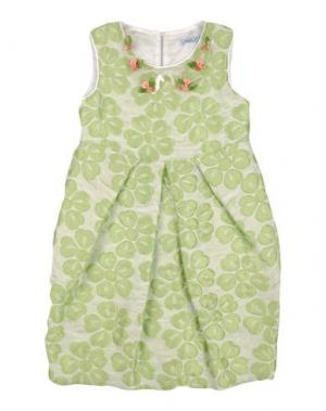Платье MIMISOL. Цвет: светло-зеленый
