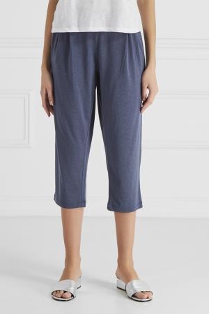 Укороченные брюки Princesse Tam-Tam. Цвет: серый