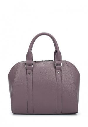 Сумка Savio. Цвет: фиолетовый
