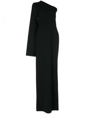 Вечернее платье Ysabel Solace. Цвет: чёрный