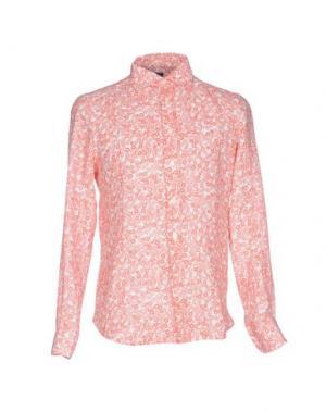 Pубашка MOSAIQUE. Цвет: коралловый