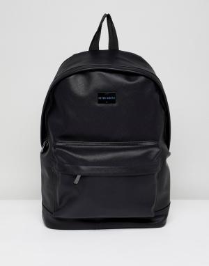 Peter Werth Черный рюкзак. Цвет: черный