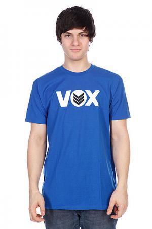 Футболка Vox Global Roy Blue. Цвет: синий