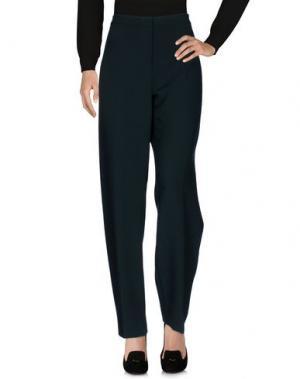 Повседневные брюки FONTANA COUTURE. Цвет: темно-зеленый