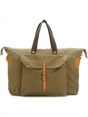 Дорожная сумка Freddie Ally Capellino. Цвет: зелёный