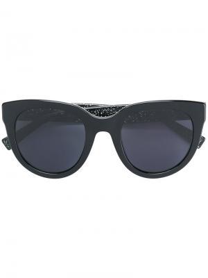 Солнцезащитные очки в оправе кошачий глаз Marc Jacobs Eyewear. Цвет: чёрный
