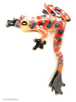 Фигурка Лягушка Pavone. Цвет: оранжевый, серый, красный