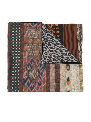 Лоскутный шарф Pierre-Louis Mascia. Цвет: многоцветный