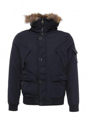 Куртка утепленная Caleb. Цвет: синий