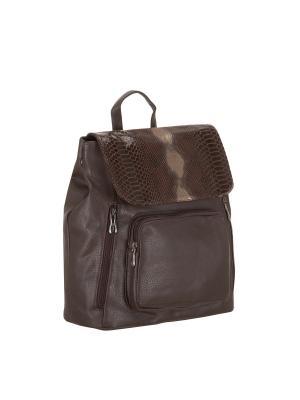 Рюкзак 5700 искусственная кожа Sofiya. Цвет: коричневый