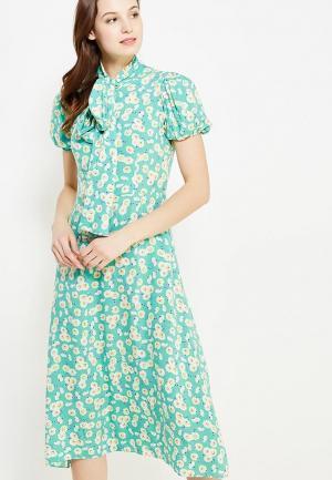 Платье Ли-лу. Цвет: бирюзовый