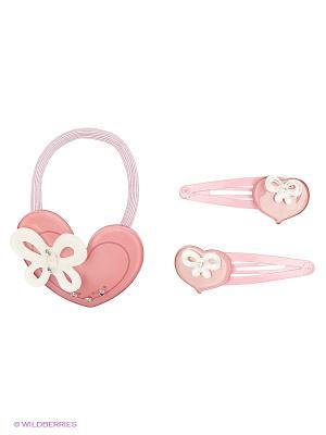 Комплект Сердце Daisy Design. Цвет: бледно-розовый