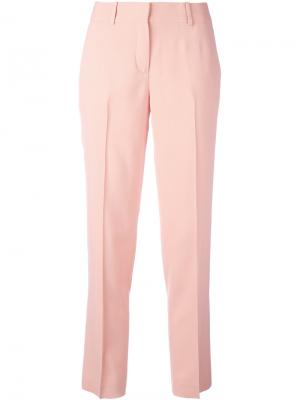 Классические брюки Ermanno Scervino. Цвет: розовый и фиолетовый
