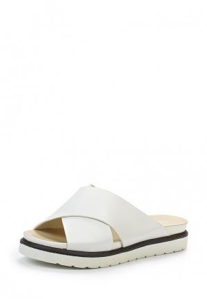 Шлепанцы Retro Shoes. Цвет: белый