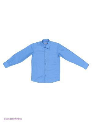 Сорочка Brostem. Цвет: голубой, белый