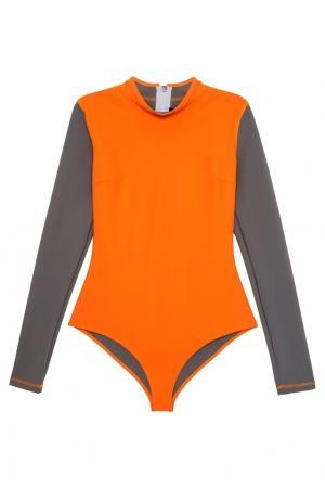 Костюм для серфинга Mirissa BODYPOETRY. Цвет: оранжевый