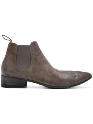Ботинки Челси Marsèll. Цвет: серый