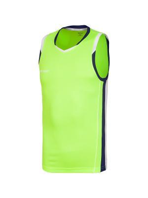 Майка спортивная 2K. Цвет: желтый, белый, темно-синий