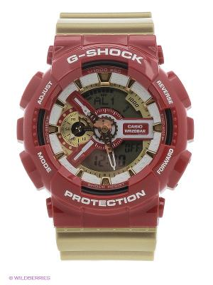Часы G-SHOCK GA-110CS-4A CASIO. Цвет: красный