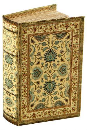 Шкатулка-фолиант 17x12x6 см Русские подарки. Цвет: коричневый