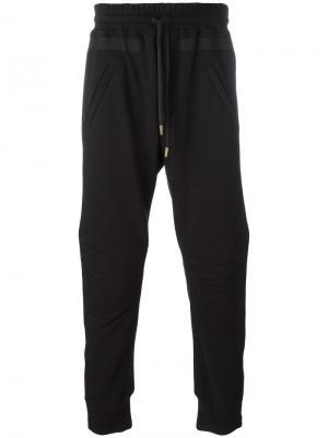 Спортивные брюки Amen. Цвет: чёрный