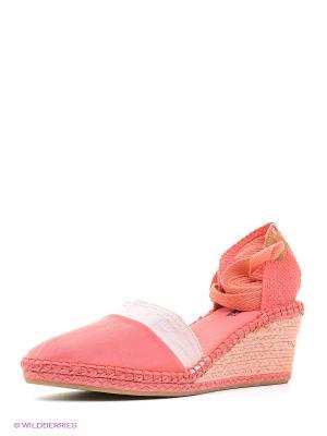 Босоножки NAPAPIJRI. Цвет: розовый