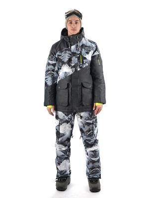 Куртка Stayer. Цвет: антрацитовый, салатовый, светло-серый