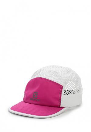 Бейсболка Salomon. Цвет: розовый