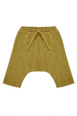 Шерстяные брюки Basanite Baby Caramel Baby&Child. Цвет: зеленый