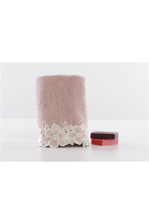 Полотенце 50x90 см MINTEKS. Цвет: розовый