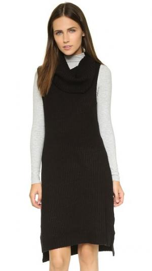 Платье-свитер Marisa BB Dakota. Цвет: голубой