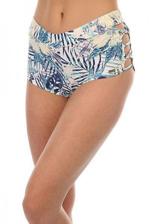 Шорты пляжные женские  Easy Peasy Lycr Marshmallow Beyond Roxy. Цвет: мультиколор